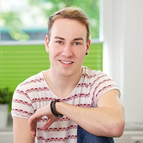 Kaufmann für Marketingkommunikation bei kajado: Tim Schröer