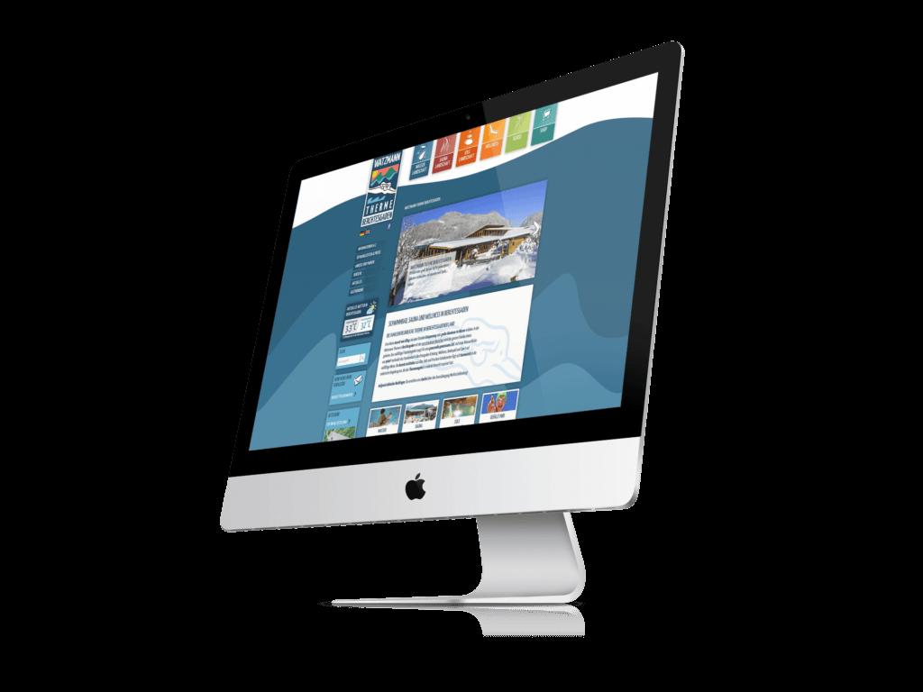 Website mit TYPO3 - Referenz Berchtesgaden