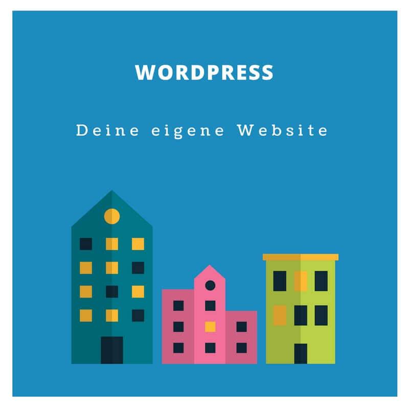 Eigene Website mit WordPress erstellen