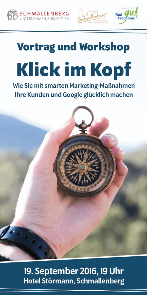Vortrag und Workshop - Klick im Kopf