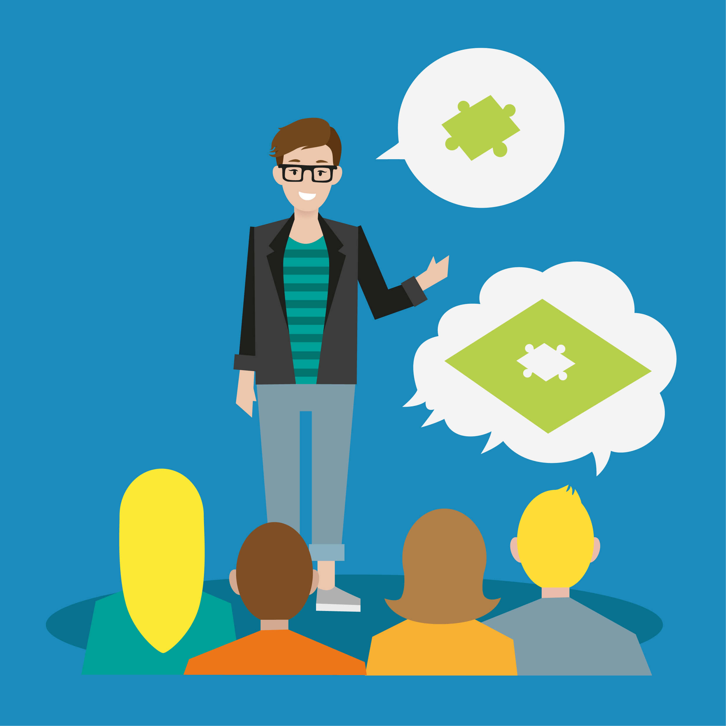 Wissenslücke - kurzweilige Vorträge zu Marketing-Themen