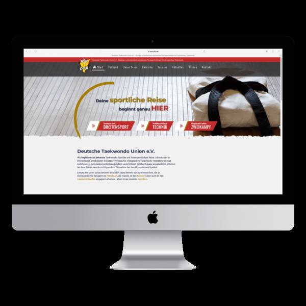 DTU Website mit TYPO3