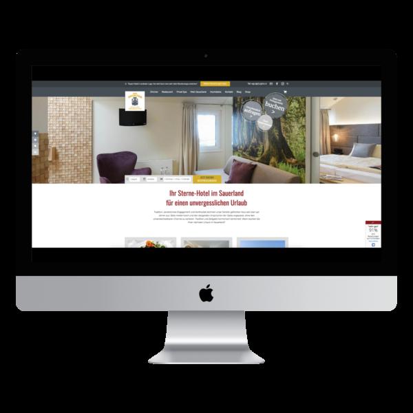 Die neue Website von Haus Hochstein.