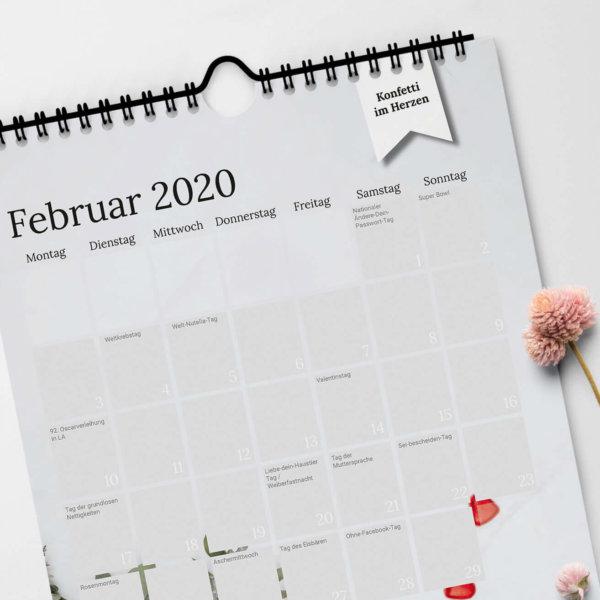Content Kalender Februar 2020